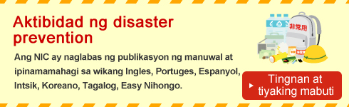 Aktibidad ng disaster prevention